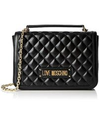 cad70cb2f74a Love Moschino - Borsa Quilted Nappa Pu Top-handle Bag - Lyst