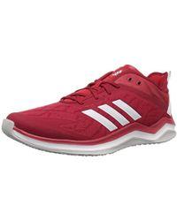 da1709648eea Speed Trainer 4 Baseball Shoe, Power Red/crystal White/scarlet, 5 M Us