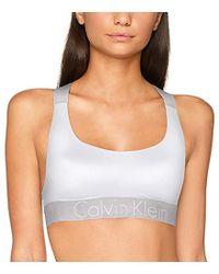 Lyst - Sujetador con ribete de puntilla Dolce   Gabbana de color Blanco e02f9c7ab8ba