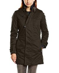 G-Star RAW - Minor Slim Trench Wmn, Abrigo para Mujer, Gris (Asfalt 995) X-Large - Lyst