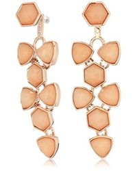 Vera Bradley - Geo Facets Convertible Drop Earrings - Lyst
