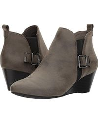 Anne Klein - Anni Synthetic Ankle Boot - Lyst