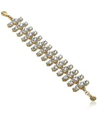 "Juicy Couture - Gemstone Bracelet, 7.56"" - Lyst"