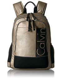 CALVIN KLEIN 205W39NYC - Athliesure Nylon Double Zip Backpack - Lyst