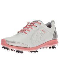 Ecco - Biom G 2 Free (white/buffed Silver) Women's Golf Shoes - Lyst