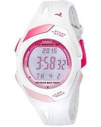G-Shock - Str300-7 Sports Watch - White - Lyst