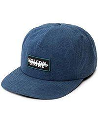 Volcom - Scribble Stone Five Panel Hat - Lyst fc8da67eefae