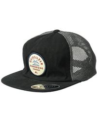 1c2ab524a66 Lyst - Quiksilver Abyss Trucker Hat in Black for Men