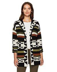 Pendleton - Desert Stripe Merino Wool Cardigan Sweater - Lyst
