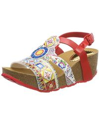 Desigual - Shoes_odisea Microrapport Sling Back Sandals - Lyst