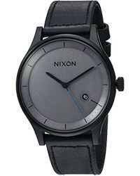 Nixon - Unisex The Station Leather - Lyst