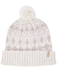 f3e4d66a3e5 Mackage Karol Slouch Style Chunky Knit Hat For Women In Off White in ...