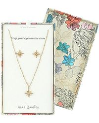 Vera Bradley - S Sparkling Star Earring Jewelry Set, Gold Tone - Lyst