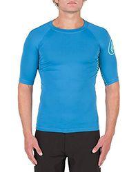 Volcom - Young 's Vibes Short Sleeve Rashguard Shirt - Lyst