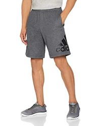 db03fc484ad6 PUMA Ess N°1 Sweat Short Men s Shorts In Grey in Gray for Men - Lyst