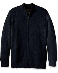 Pendleton - Shetland Full-zip Cardingan Sweater - Lyst