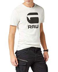 1eae4ad7a18 G-Star RAW T-shirt in Orange for Men - Lyst