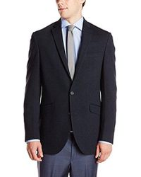 Kenneth Cole Reaction - Navy Neat 2 Button Sport Coat - Lyst