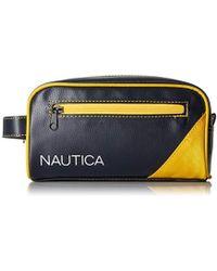 Nautica - Top Zip Travel Kit Toiletry Bag Organizer - Lyst