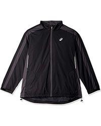 Asics - Pesu Jacket, Black, Large - Lyst