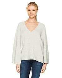 French Connection - Urban Flossy Wide Sleeve Sweater - Lyst