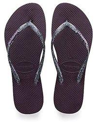 Havaianas Slim Logo Metallic, Flip Flops