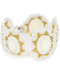 Miguel Ases - Opalite Quartz And Mother-of-pearl Bracelet - Lyst