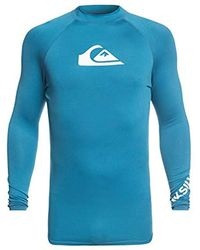 Quiksilver - All Time Long Sleeve Rash Guard - Lyst