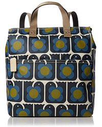 Orla Kiely - Love Birds Print Backpack - Lyst