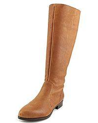 18adbe8bc42 Lyst - Nine West Nicoh Women Us 6 Brown Knee High Boot in Brown