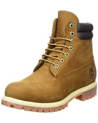 Timberland - 6 in Double Collar Waterproof, Bottes Homme - Lyst
