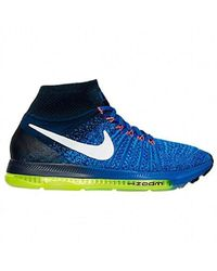 low priced 53aea 2a48c Nike 843765-501 Trail Running Shoes in Blue - Lyst