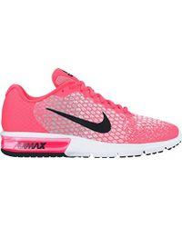 Running Gris Rosado Fluorescente Nike Air Max Sequent 2