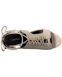 Calvin Klein - Santos Dress Sandal - Lyst