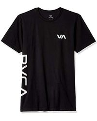 RVCA - Sides Short Sleeve Performace T-shirt, - Lyst