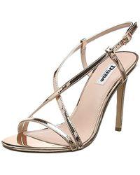 625cbe6c1350 Dune -   s Madeena Ankle Strap Sandals - Lyst