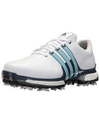 Lyst adidas tour360 x scarpe da golf in bianco per gli uomini.