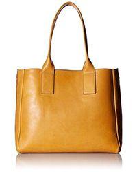 Frye - Ilana Tote Leather Handbag - Lyst