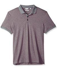 CALVIN KLEIN 205W39NYC - Cotton Liquid Touch Polo Shirt - Lyst