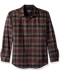 Pendleton - Long Sleeve Button Front Fitted Lodge Shirt - Lyst