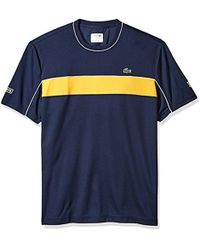 Lacoste - Short Sleeve Jersey Tech With Novak Graphic T-shirt, Th3333 - Lyst