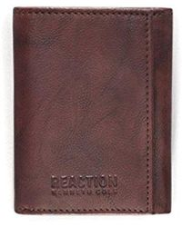 Kenneth Cole Reaction - Rfid Security Blocking Trifold Wallet - Lyst