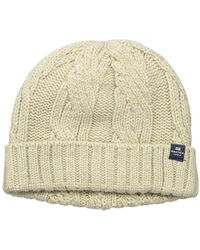 Nautica - Cable Hat - Lyst
