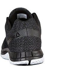 7ccd60365d29 Lyst - Reebok Zprint Running Sneaker - Wide Width (men) in Black for Men