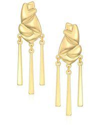 Laundry by Shelli Segal - Layered Chandelier Drop Earrings - Lyst