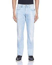 0374f5f1a29 G-Star RAW Attacc Straight Brooklyn Denim Jeans in Blue for Men - Lyst