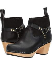 Swedish Hasbeens - Rivet Ankle Boot - Lyst