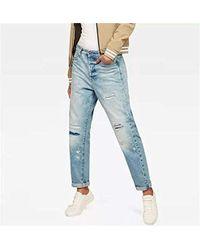 G-Star RAW - Damen Midge Saddle High Waist Boyfriend Jeans - Lyst