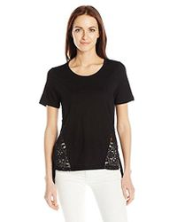 French Connection - Hopper Lace Top - Lyst