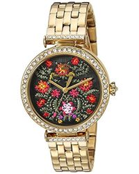 Juicy Couture - 'j Couture' Quartz Stainless Steel Casual Watch, Color:gold-toned (model: 1901516) - Lyst